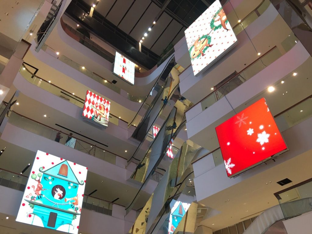 indoor led video wall panel