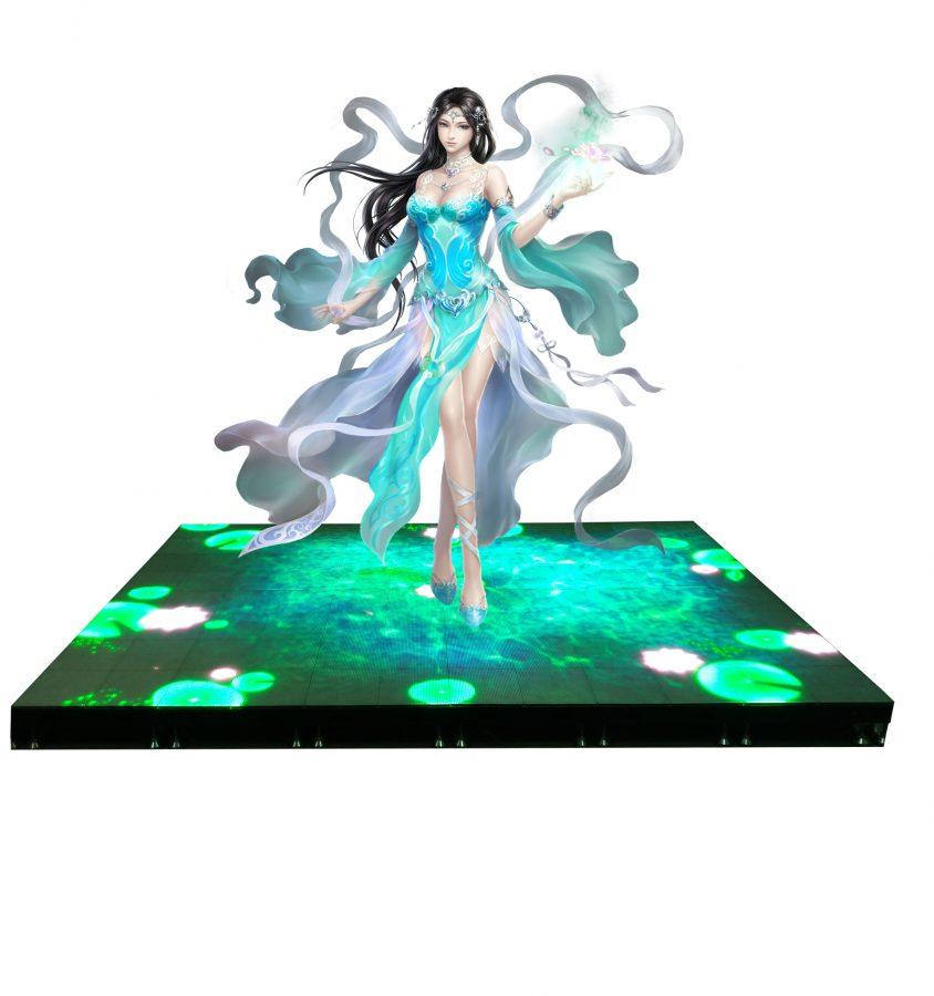 interactive dance floor