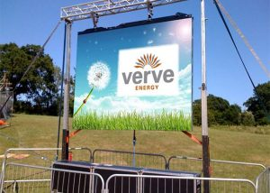 outdoor rental led display video wall screen display