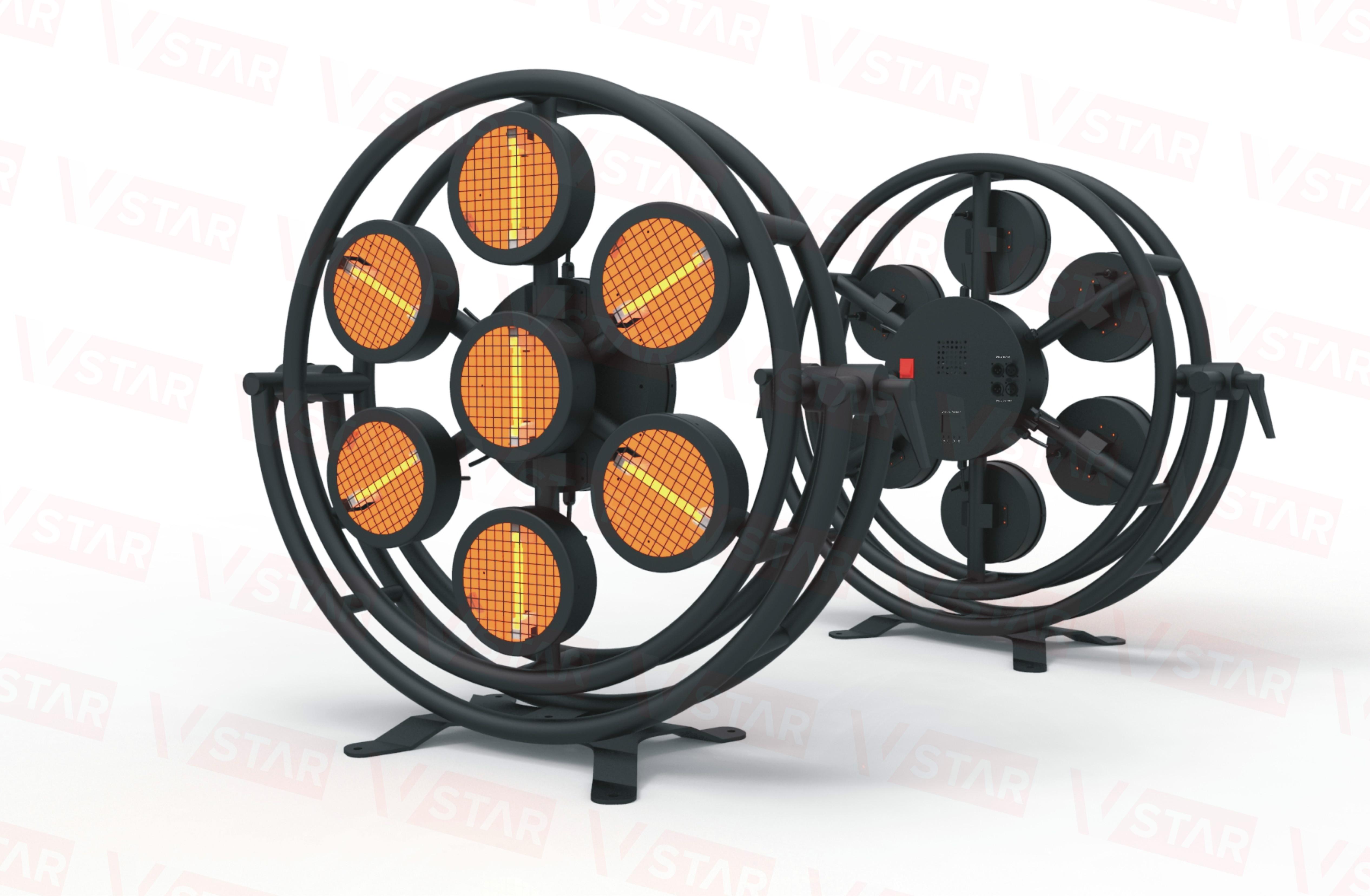 LED Halogen Retro light VSTAR