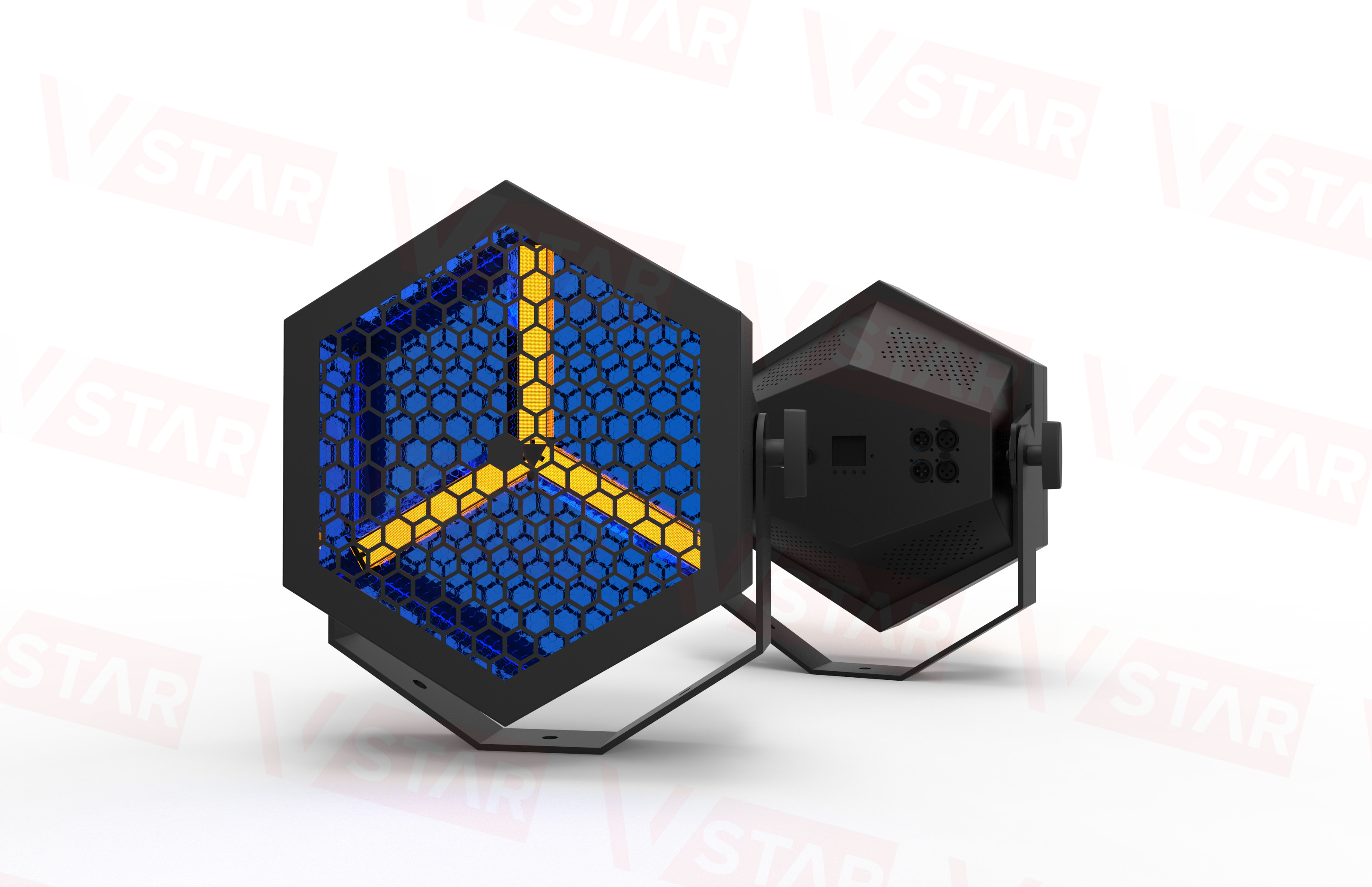 LED Halogen Retro light bar stage