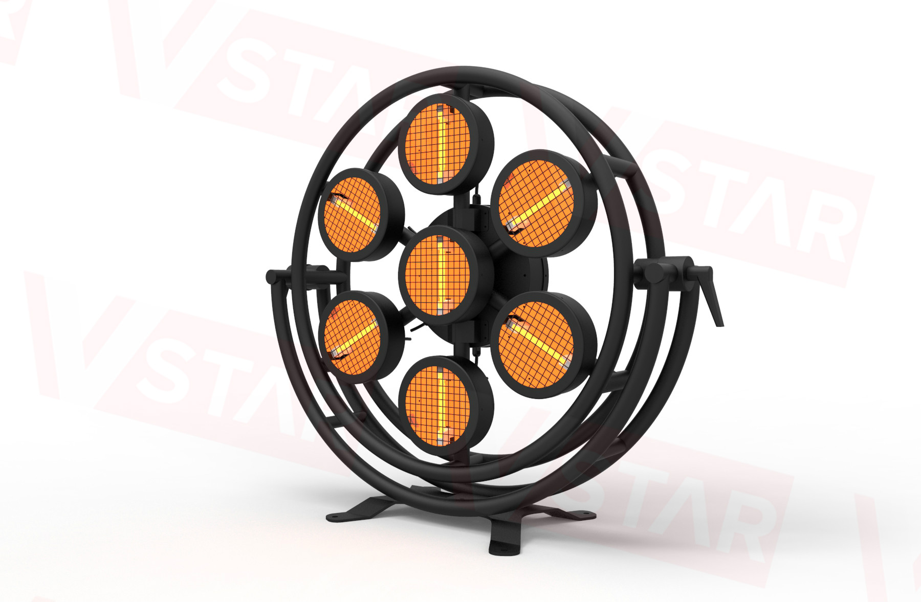 LED Halogen Retro light