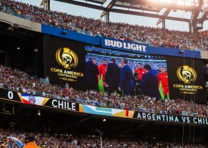 Sports LED Display Argentina VS Chile
