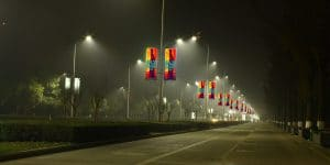 Street Light Pole LED Display